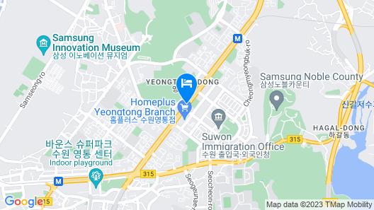 HOTEL LANDMARK Map