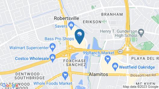 Wingate by Wyndham San Jose Map