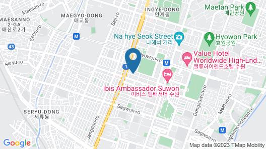 BOBOS HOTEL Map