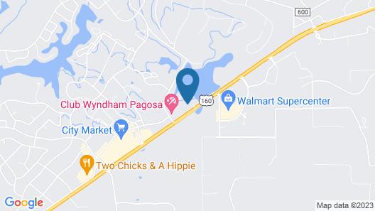 Pagosa Springs Lodge Map
