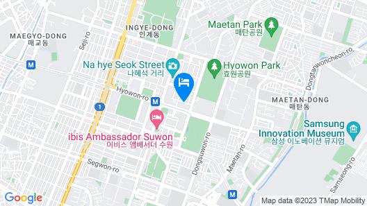 Value Highend Hotel Suwon Map