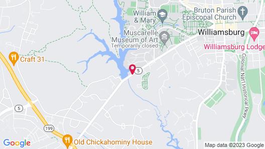 Williamsburg Sampler B & B Map