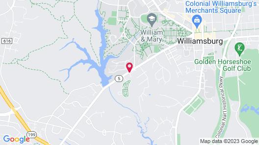 A Williamsburg White House Map