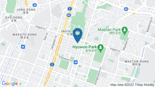 Suwon Iris Map