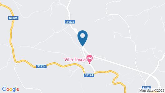 Villa Tasca Map