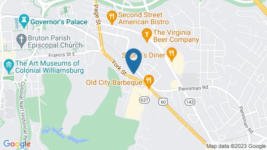 Baymont by Wyndham Williamsburg Map