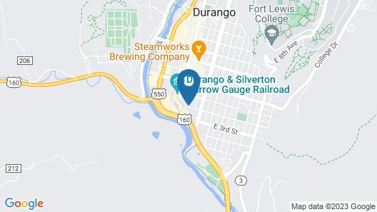 Best Western Plus Rio Grande Inn Map