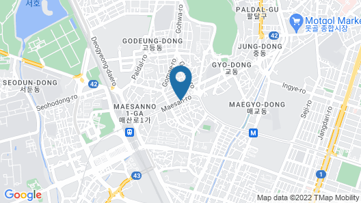 The Suite Place Serviced Residences Map