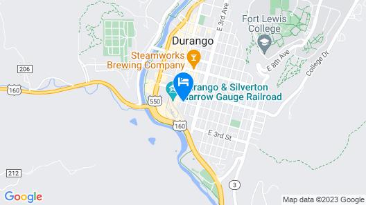 Durango Lodge Map