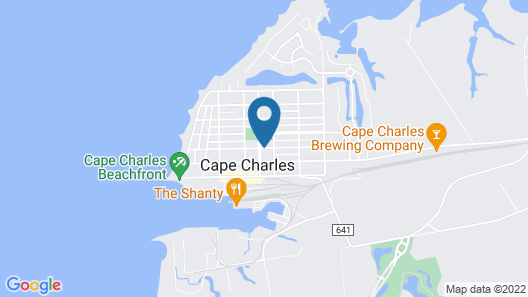 Bay Haven Inn of Cape Charles Map