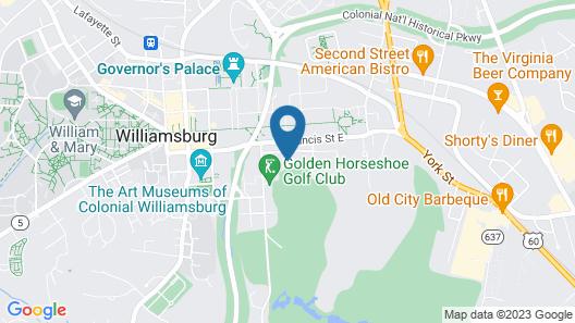 Williamsburg Inn - A Colonial Williamsburg Hotel Map