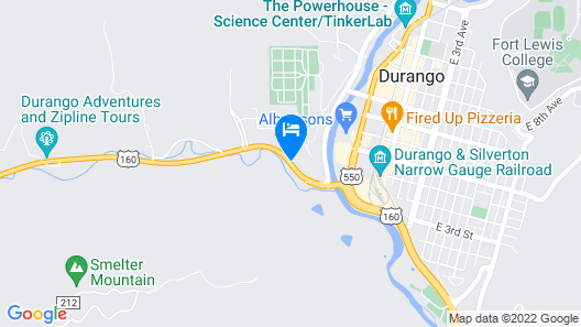 Fairfield Inn & Suites Durango Map