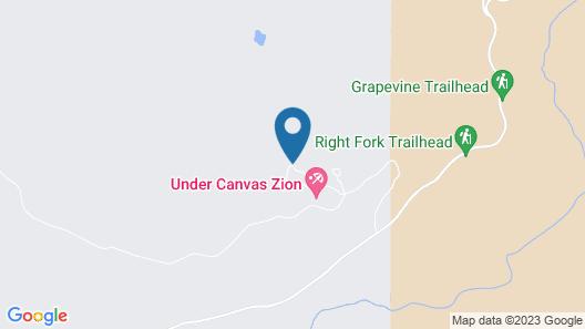 Under Canvas Zion Map