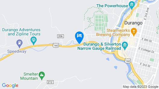 Best Western Durango Inn & Suites Map