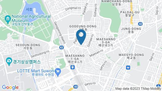 Ivy Stay Suwon Map