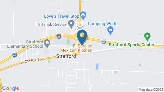 Super 8 by Wyndham Strafford/Springfield Area Map