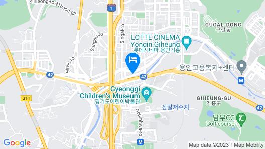 Yongin Singal Sangsang Hotel 1 Map