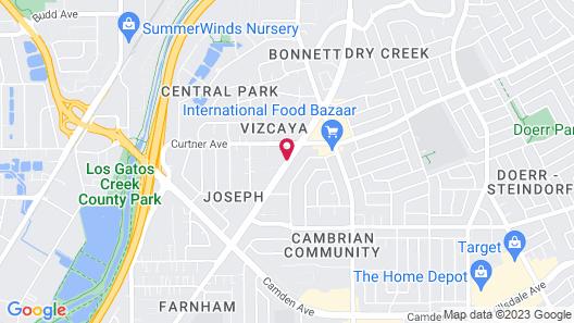 Residence Inn by Marriott San Jose Map