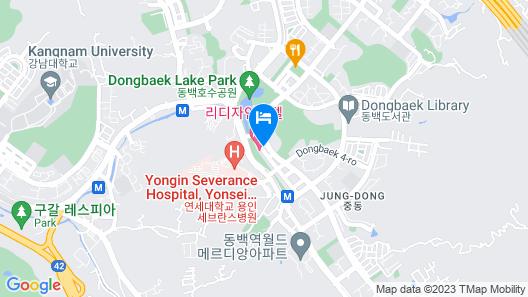 Lee Design Hotel Map