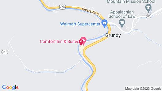 Comfort Inn & Suites Map