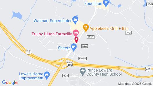 Super 8 by Wyndham Farmville Map