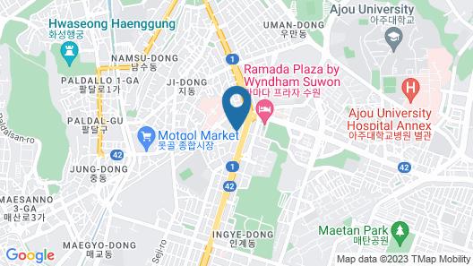 Suwon Design XYM Map