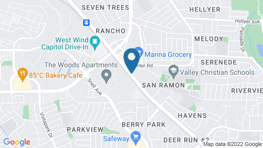 Days Inn by Wyndham San Jose Map