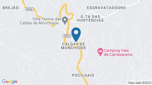 Monchique Resort & Spa Map