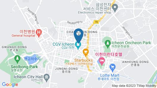 Cine Hotel Icheon Map