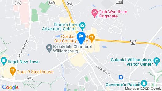 Westgate Historic Williamsburg Resort Map
