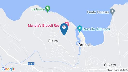 Brucoli Village Map