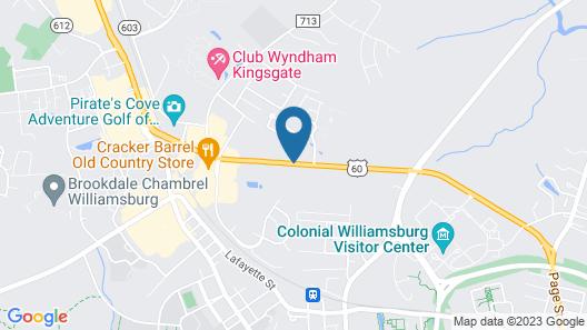 La Quinta Inn & Suites by Wyndham Williamsburg Historic Area Map