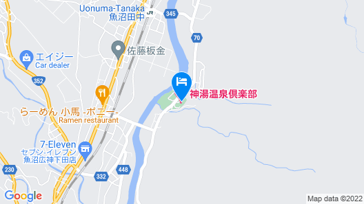 Kamiyu Onsen Club Map