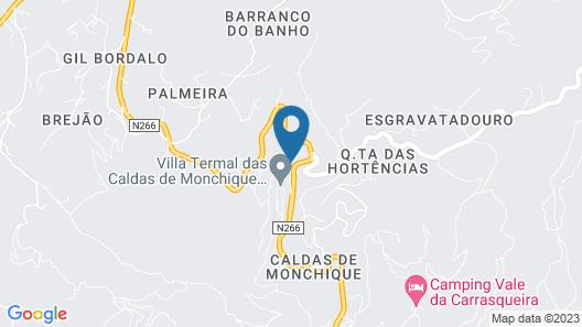 Villa Termal Monchique – Hotel D. Carlos Régis Map