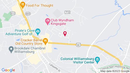 Club Wyndham Patriots' Place Map