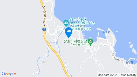 Samcheok Aramaru Map