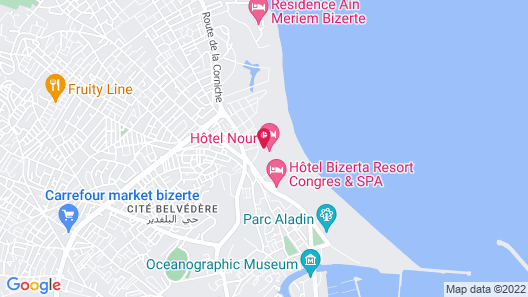 HOTEL NOUR CONGRESS & RESORT Map