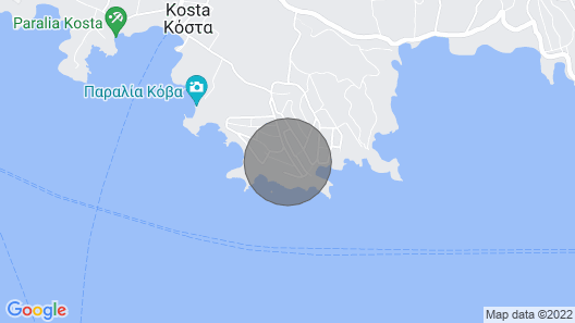 Luxurious villa with pool in Porto Heli Map
