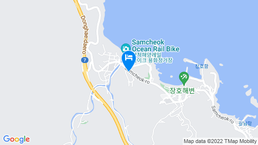 Samchecok Yeodaum Pension Map