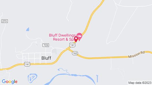 Bluff Dwellings Resort Map