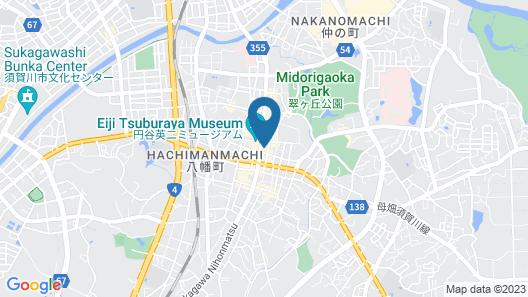 Hotel Wing International Sukagawa Map
