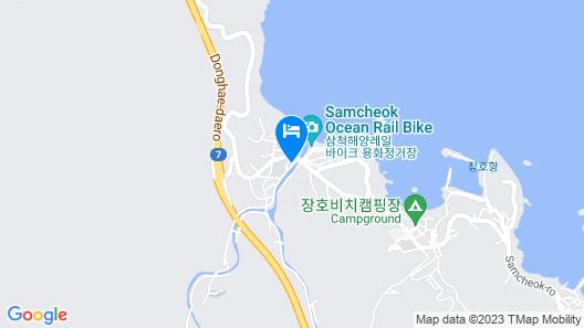 Samcheok Healingcamp Pension Map