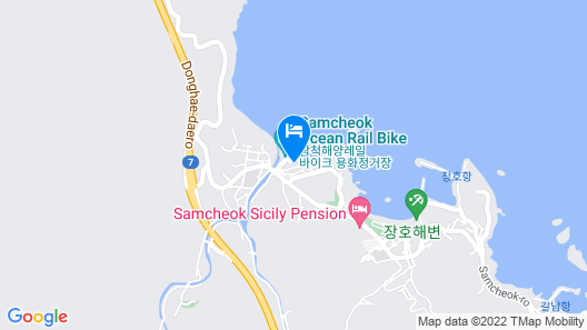 Samcheok Sunny Pension Map