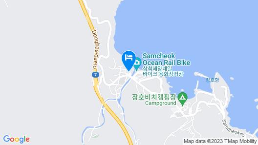 Samcheok Sol Beach Pension Map