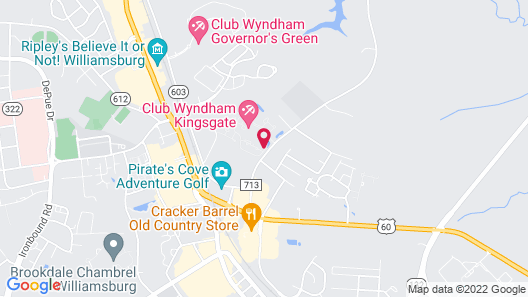 Club Wyndham Kingsgate Map