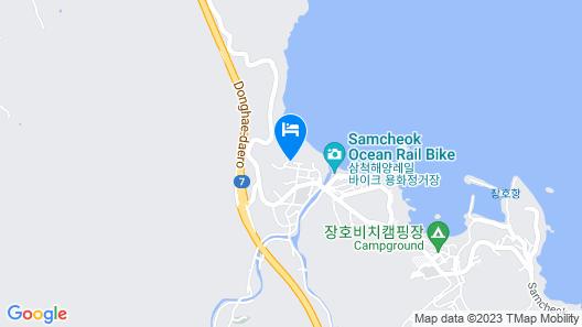 Samcheok Lamer Pension Map