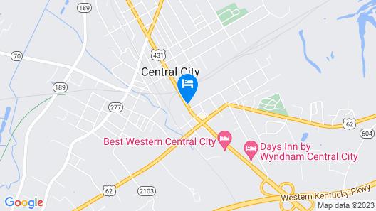 Days Inn by Wyndham Central City Map