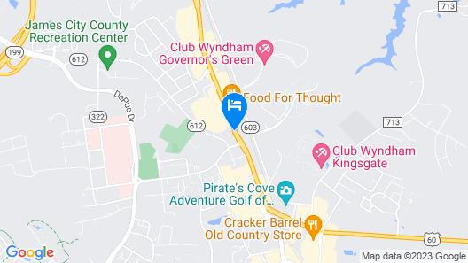 America's Inn Map