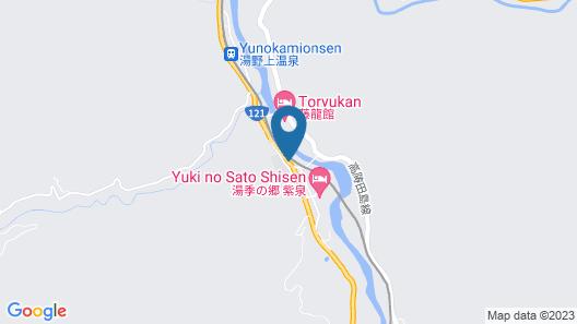 Shimizuya Ryokan Map
