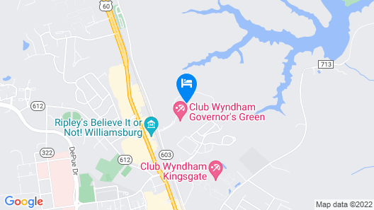 Club Wyndham Governor's Green Map